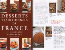 Livre Japonais sur les Desserts Traditionnels de la France