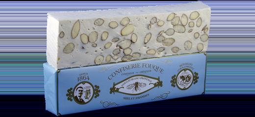 Nougat Blanc Provence Oblique