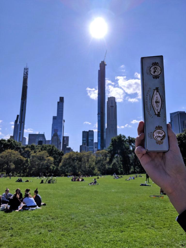 Toujours plus haut, nouveau gratte-ciel de la maison Fouque aperçu à New York ! M. Lambert