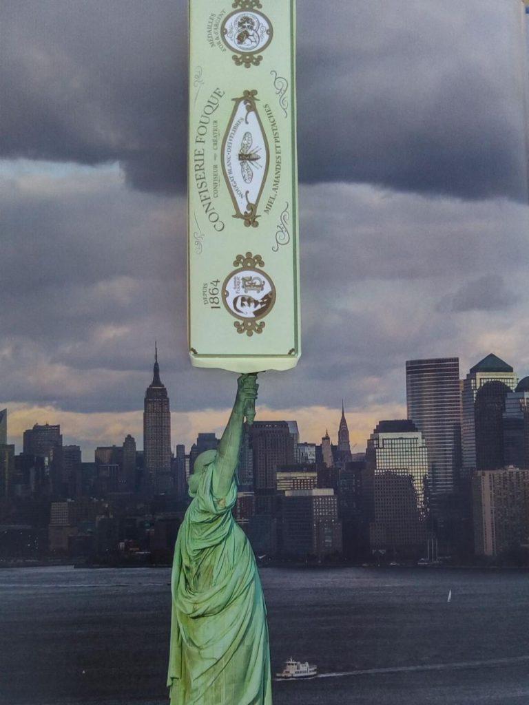 Le Nougat Fouque en Liberté (Manhattan New York) GERTOSIO P.