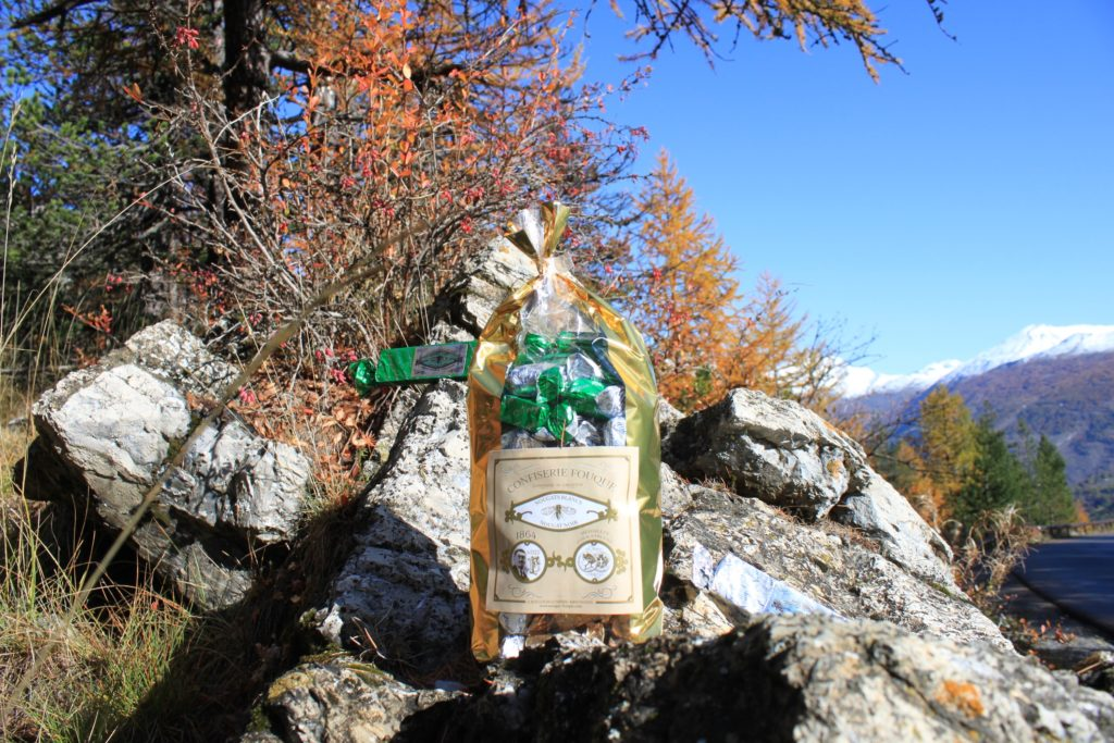 Vue du sommet du col de l'Echelle Franco-Italien GENINI B.